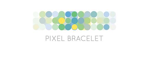 graphisme pixel bracelet